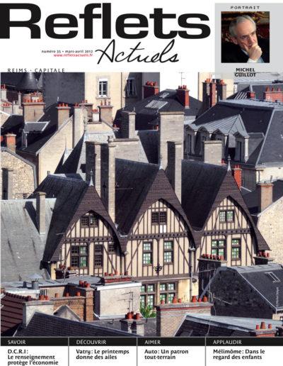 Couv Reflets Reims Mars 2012