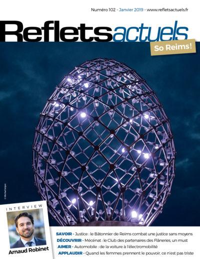 Couverture Reflets Actuels Janvier 2019 BD