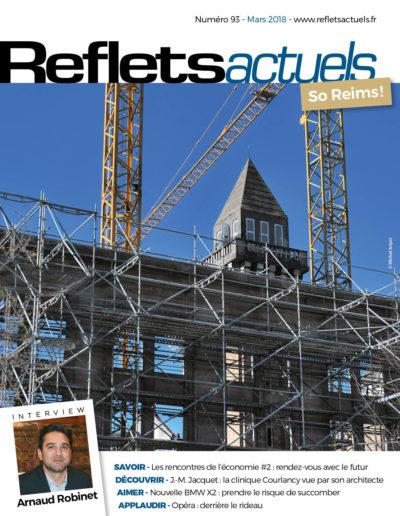 Couverture Reflets Actuels Mars 2018 BD