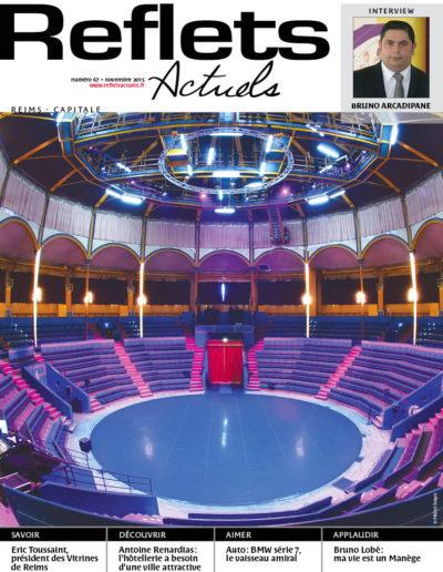 Couverture Reflets Actuels Novembre 2015