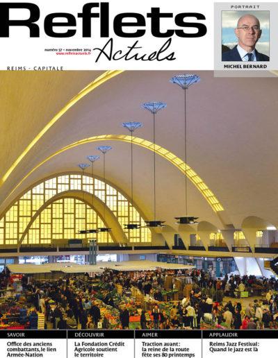 Couverture Reflets Actuels Reims Novembre 2014