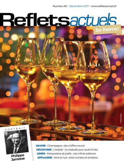 Couverture Reflets Decembre 2017 BD