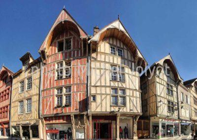 FR02 - Troyes - Maisons à pans de bois